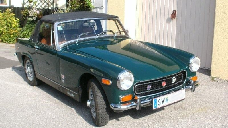 MG Midget MARK III Cabrio